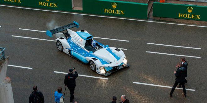 Her er en racerbil som bruker hydrogen. Om alt går som Michelin drømmer om skal den få selskap av en rekke andre biler. (Foto: Michelin)