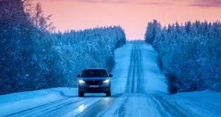 Skoda har luftet den nye Kodiaq RS i Nord-Norge, og viser turen fram i en ny video. (Alle foto: Skoda)