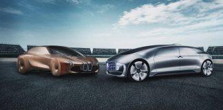 Daimler og BMW-gruppen går sammen for å utvikle selvkjørende biler. (Foto: Daimler/BMW)
