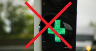 Lyssignalet i forbindelse med bompengepunkter slukkes allerede neste måned. (Foto: Statens vegvesen)