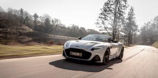 Her er en særdeles vakker og potent toppløs supermodell, Aston Martin DBS Superleggera Volante. (Alle foto: AM)