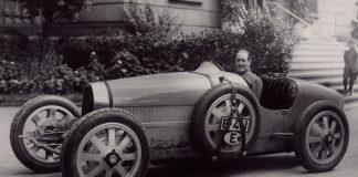 Dette er vinneren av historiens første løp i gatene til Monaco. (Alle foto: Bugatti)