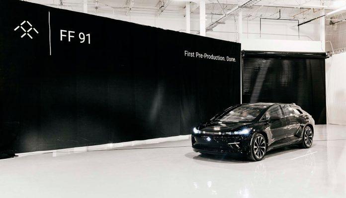 Har Faraday Future en fremtid? Nå er det spyttet inn nye milliarder i den ambisiøse elbilprodusenten. (Foto: FF)