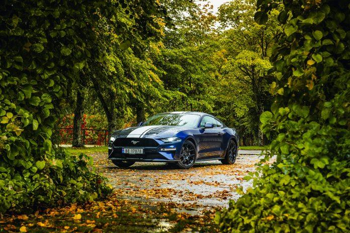 Ford Mustang er for fjerde året på rad årets mest populære sportsbil. (Alle foto: Ford)