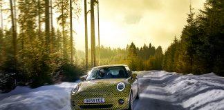 Det åpnes nå for reserveringer av Minis aller første elbil. (Begge foto: BMW)