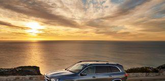 Mercedes har oppgradert flaggskipet GLS, som nå kommer for salg. (Alle foto: Daimler)