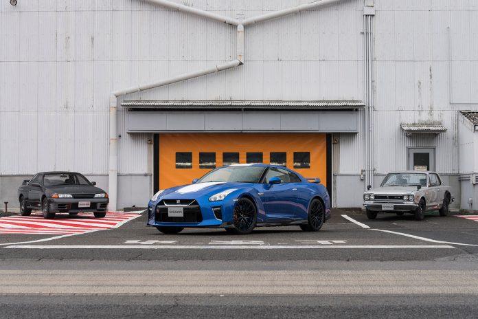 Legger vi godviljen til kan vi si at Nissan GT-R faktisk er 50 år. (Alle foto: Nissan)