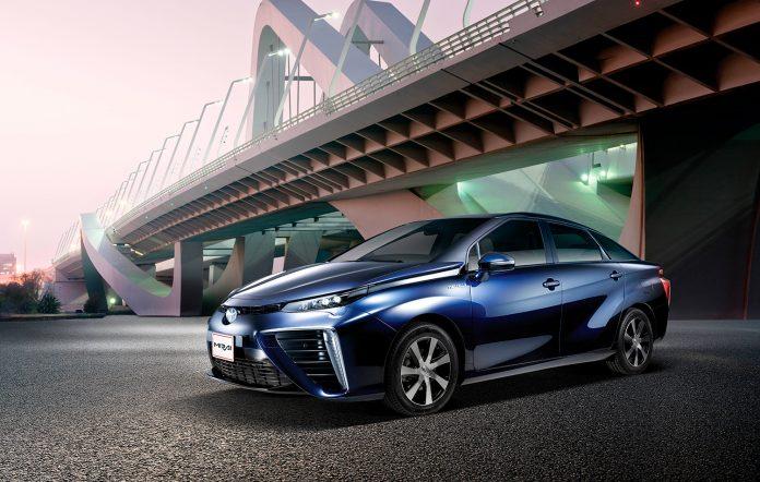 Det finnes mange løsninger i Toyota Mirai som nok mange produsenter kan tenke seg å bruke. (Alle foto: Toyota)