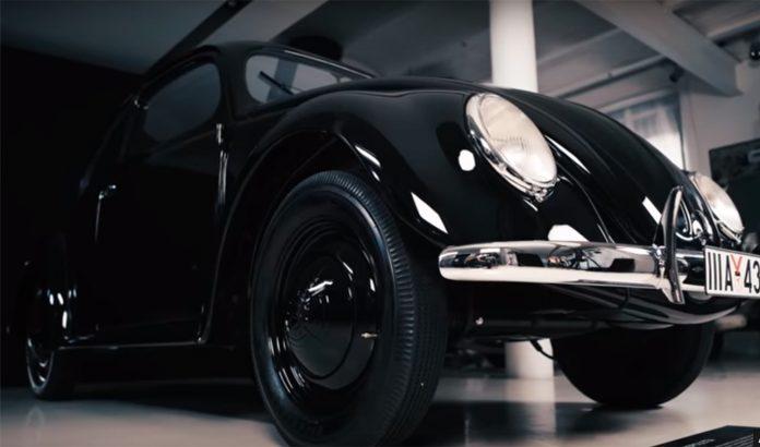 Dette er en Volkswagen som egentlig er en Porsche. (Alle foto: Porsche)