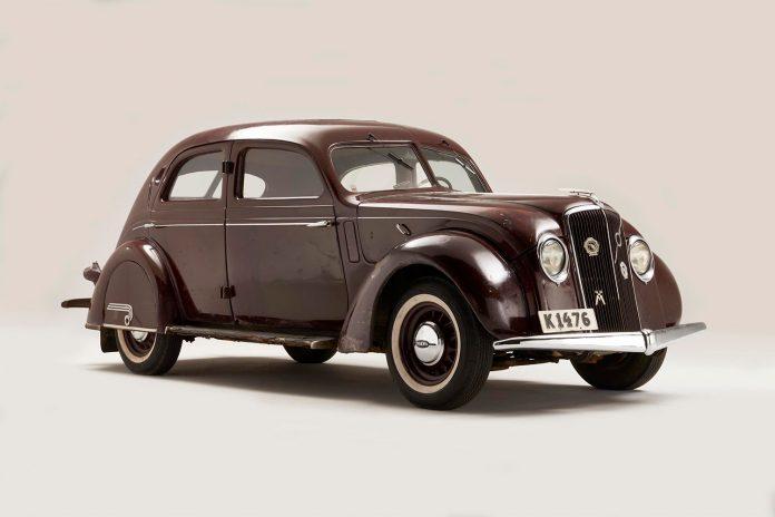 Denne bilen er faktisk eid av en av de to grunnleggerne til Volvo, Gustav Larson. (Alle foto: Volvo)