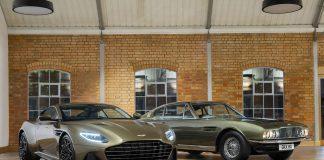 Aston Martin hedrer nå DBS-modellen som ble brukt i en James Bond-film som kom i 1969. (Alle foto: Aston Martin)