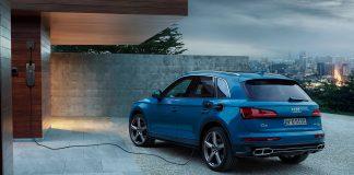 Audi Q5 kommer nå som ladbar hybrid. (Alle foto: Audi)