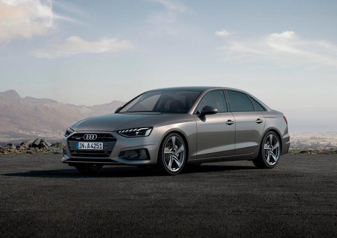 Audi oppdaterer nå A4, både på utsiden og innsiden. (Alle foto: Audi)