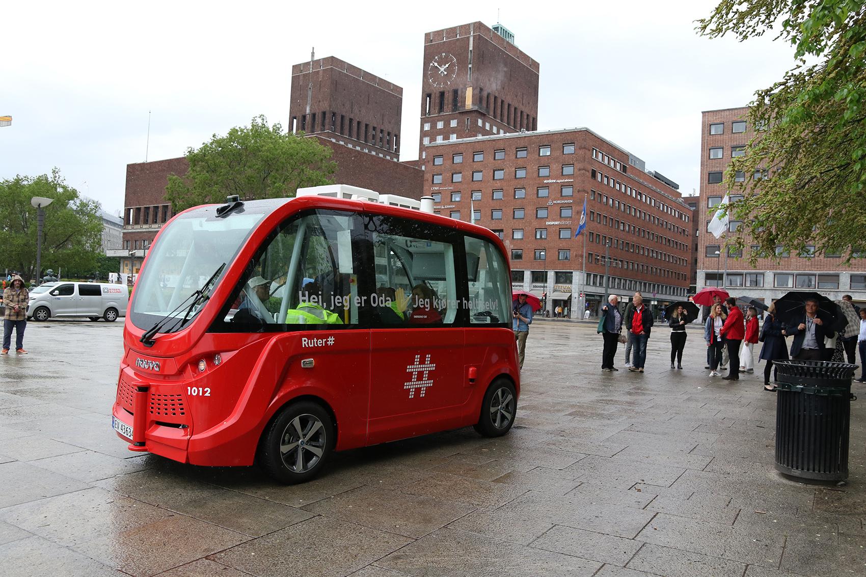 Nå har Oslo selvkjørende busser