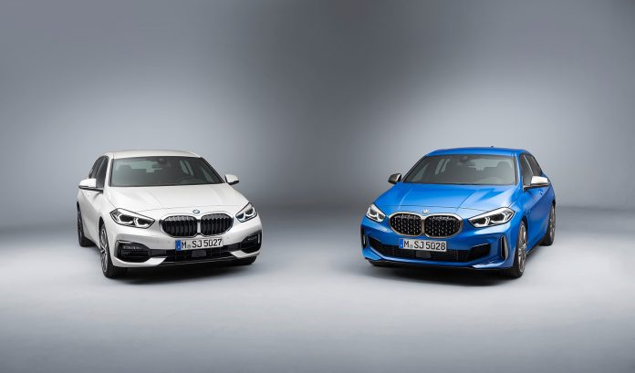 BMW 1-serie dropper bakhjulstrekken. (Alle foto: BMW)