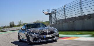 Snart kan du også stille inn bremsene, iallfall om du kjører den nye BMW M8. (Alle foto: BMW)