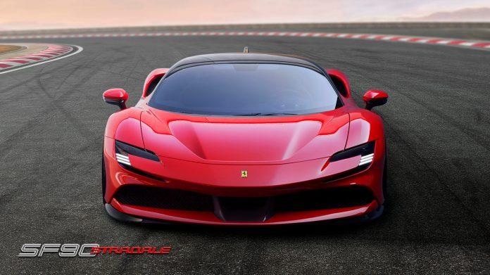 Dette er en ladbar Ferrari, og litt av en superbil. Den er kalt Ferrari SF90 Stradale. (Alle foto: Ferrari)