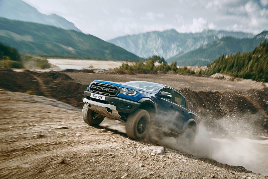 Ford kommer snart med Raptor-utgaven av Ranger. (Foto: Ford)