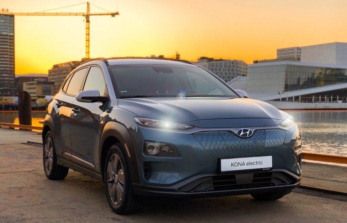 Hyundai oppdaterer allerede nå Kona electric. (Begge foto: Hyundai)