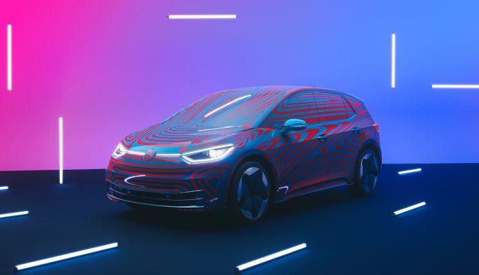 Det var som ventet enorm interesse da Volkswagen åpnet for reserveringer av den kommende elbilen ID. 3. (Alle foto: VW)
