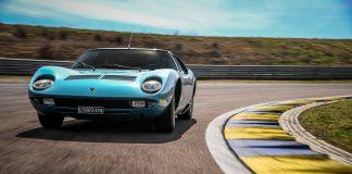 Lamorghini har blåst nytt liv i denne bilen, som en gang var eid av en stor italiensk kjendis. (Alle foto: Lamborghini)