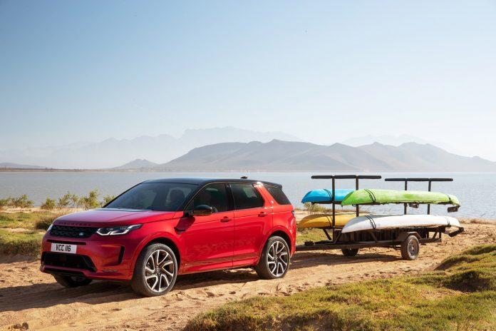 Land Rover oppgraderer nå Discovery Sport, som senere i år også kommer som ladbar hybrid. (Alle foto: Jaguar Land Rover)