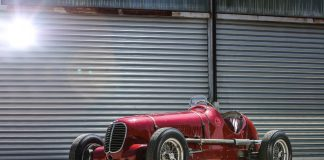 For ganske så eksakt 80 år siden vant denne et av de mest berømte løpene i Italia. (Alle foto: Maserati)