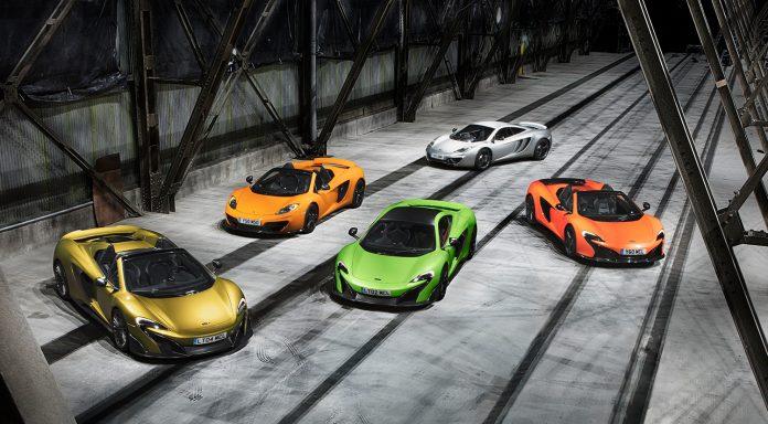 McLaren har satt sammen 20.000 sportsbiler på åtte år. (Alle foto: McLaren)