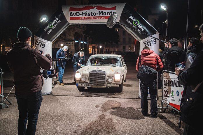 Mercedes er ikke ukjent med rally. (Alle foto: Daimler)