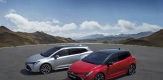 Toyota Corolla er verdens mest solgte bilmodell etter årets tre første måneder. (Begge foto: Toyota)