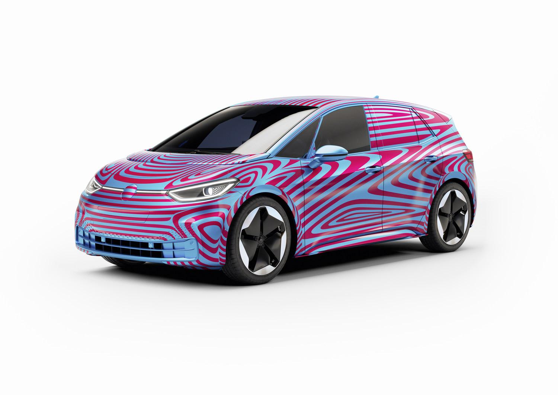 Volkswagens Forste Elbil Heter Id 3