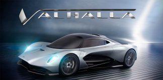 Aston Martin har gitt sin kommende hyperbil et norrønt navn, Valhalla. (Alle foto: AM)