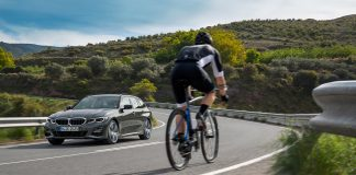 BMW viser nå fram 6. generasjonen av 3-serie som stasjonsvogn. (Alle foto: BMW)