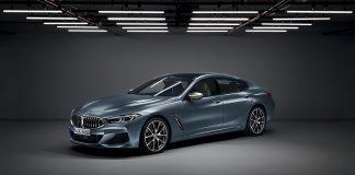 Nå viser BMW fram en firedørs versjon av den nye 8-serie, Gran Coupe-versjonen. (Alle foto: BMW)
