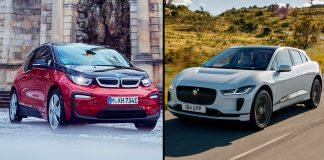 BMW og Jaguar skal i framtiden utvikle elektriske drivverk sammen. (Foto: BMW/JLR)