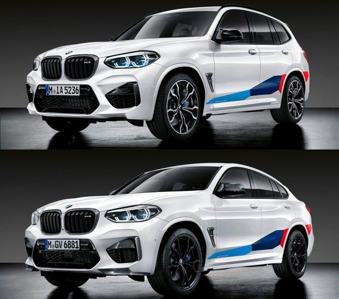 BMW X3 M og X4 M kan nå utstyres med nye og mer sportslige deler. (Alle foto: BMW)