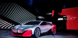 Slik ser BMW for seg framtidens M-modeller. (Alle foto: BMW)