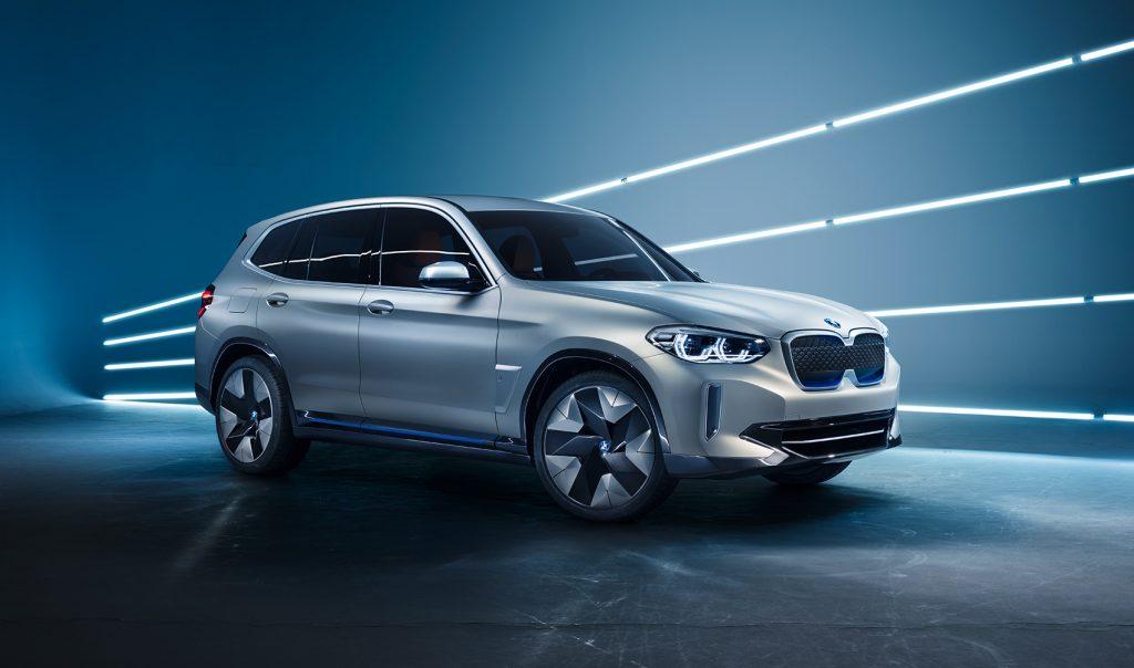 BMW utvikler 5. generasjon elmotor til iX3, og denne skal brukes som base for videreutvikling. (Foto: BMW)
