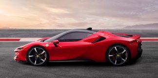Hvordan fungerer hybriden i tidenes sterkeste Ferrari, SF90 Stradale? (Alle foto: Ferrari)