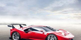 Ferrari viser fram noen helt spesielle modeller under årets Goodwood Festival of Speed, og denne unike P80/C er en av disse. (Alle foto: Ferrari)