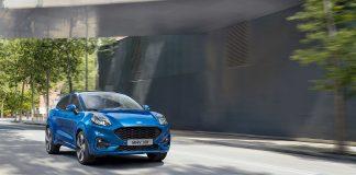 Ford Puma er nå klar for et comeback, og bilen er full av ny teknologi. (Alle foto: Ford)