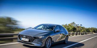 Thatcham har kjørt en ny runde med testing av nøkkelfri systemer, og Mazda 3 var en av modellene som fikk strykkarakter. (Foto: Mazda)