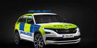 Politiet i Storbritannia har kjøpt seg Skoda Kodiaq vRS. (Foto: Skoda)