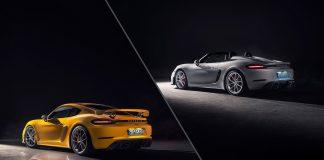 Porsche kommer nå med 3. generasjonen av 718 Cayman GT4 og 718 Spyder. (Alle foto: Porsche)