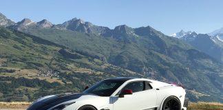 Prato Orage er en av superbilene Michelin skal vise fram, og denne byr på rundt 900 hestekrefter. (Alle foto: Michelin)