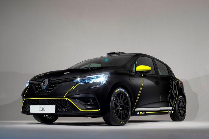 Renault kommer nå med en racingversjon av den nye Clio som kommer til høsten, og denne kan kjøres i forskjellige grener. (Alle foto: Renault)