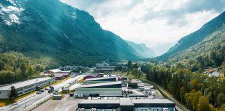 Volkswagen-gruppen har åpnet sitt 2. karbonnøytrale datasenter, og dette befinner seg på Rjukan i Telemark. (Alle foto: VW)