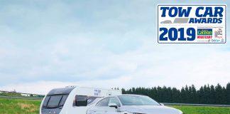 Volkswagen Arteon er kåret til årets beste trekkbil for campingvogner. (Begge foto: Volkswagen)