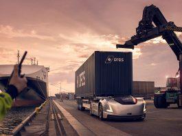Volvo har nå satt en selvkjørende trekkvogn i arbeid i Göteborg. (Alle foto: Volvo Trucks)
