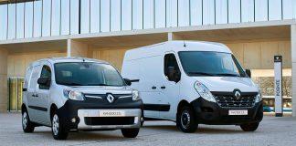 Nå blir det mulig å få støtte til å kjøpe el-varebil. Renault Kangoo Z.E var den mest solgte slike i fjor, men et totalt europeisk salg på 8.747 biler. (Begge foto: Renault)